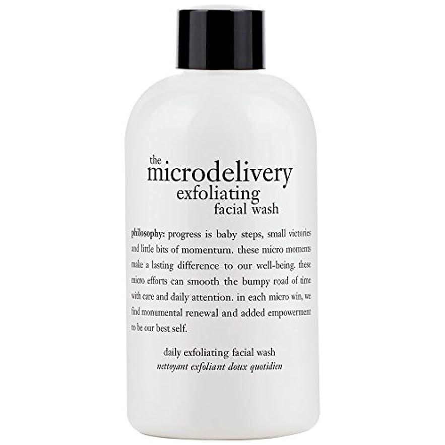 リップポケットとは異なり哲学洗浄を剥離ミクロ送達、240ミリリットル (Philosophy) (x6) - Philosophy The Microdelivery Exfoliating Wash, 240ml (Pack of 6) [並行輸入品]