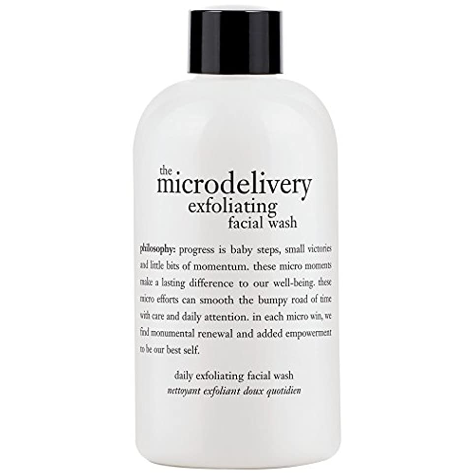 ピクニックをするマトンタッチ哲学洗浄を剥離ミクロ送達、240ミリリットル (Philosophy) (x2) - Philosophy The Microdelivery Exfoliating Wash, 240ml (Pack of 2) [並行輸入品]