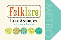 Moda Folklore チャームパック 42枚セット 5インチ (12.7cm) カット済みコットン生地 正方形