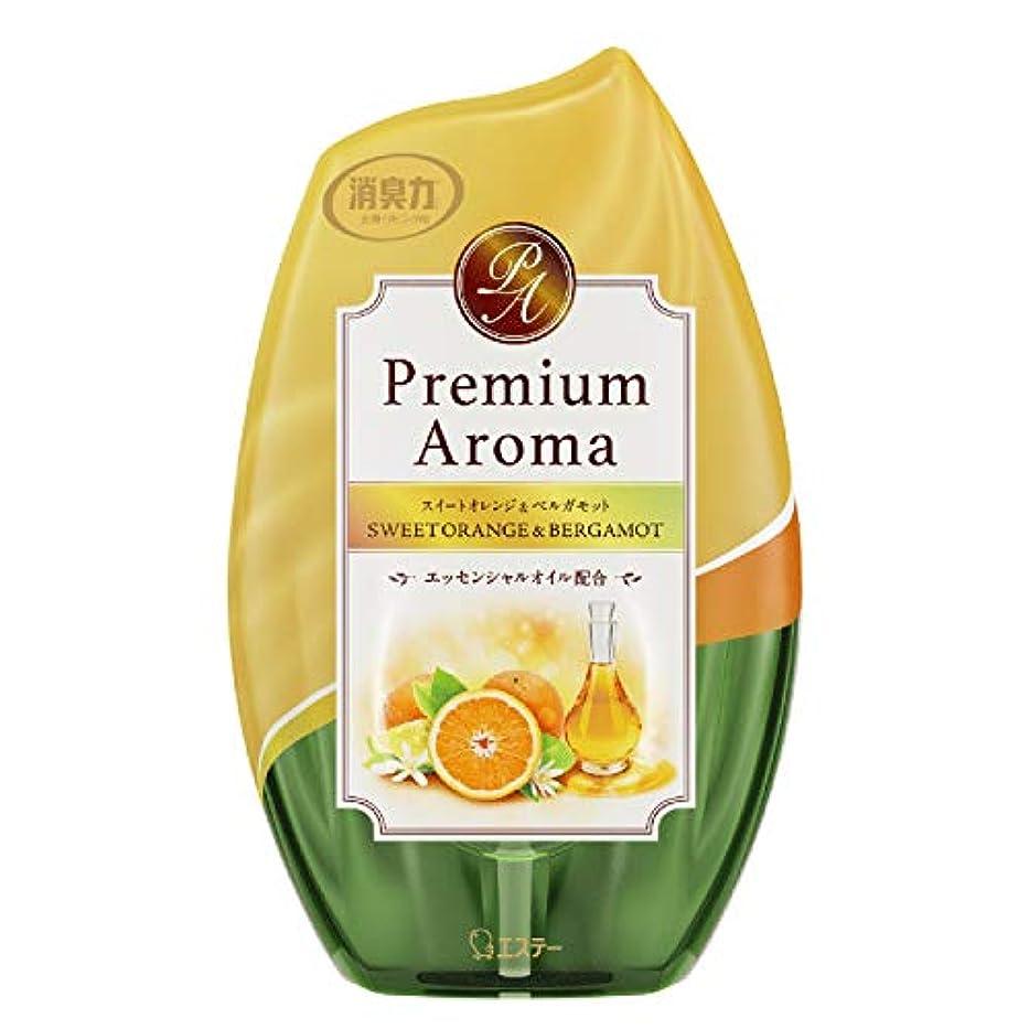 必要性ミリメーター経済的お部屋の消臭力 プレミアムアロマ Premium Aroma 消臭芳香剤 部屋用 部屋 スイートオレンジ&ベルガモットの香り 400ml