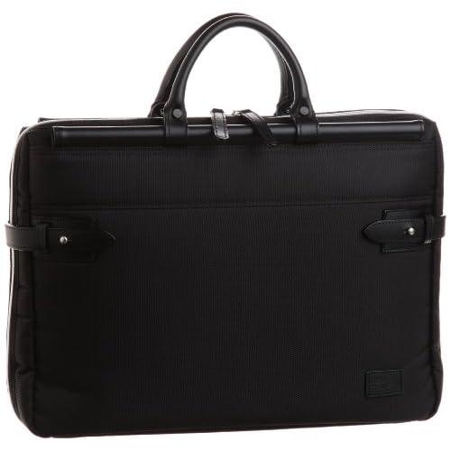 【木和田】天棒ビジネスバッグ横型S 2WAY本革付属 鞄の聖地兵庫県豊岡市製 5983 01 (ブラック)