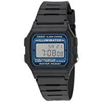 Casio Men's Illuminator Quartz Watch with Resin Strap, Black, 18 (Model: EAW-F-105W-1A)