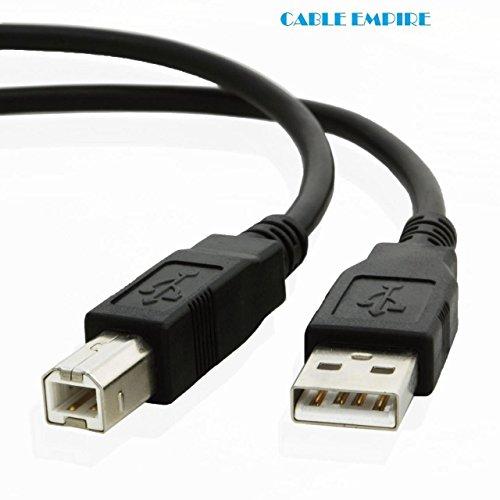 10ftケーブルEmpire USBケーブルfor ESP Kodak c315ワイヤレスカラープリンターwithスキャナー&コピー機