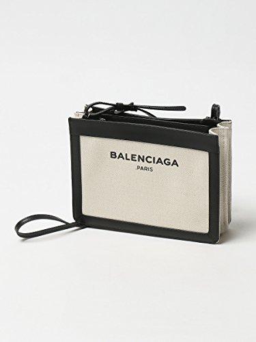 (バレンシアガ) BALENCIAGA レザー キャンバス ロゴプリント ショルダーバッグ [【BCL390641AQ37N】] [並行輸入品]