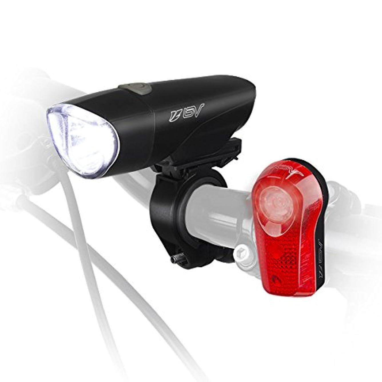 受け皿購入同じBV(ビーブイ)高輝度セーフティライトキットBV-L808 ヘッド&テールライト安全照明セット