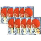 マルシン産業 NorthwaySports 卓球ラケット【シェイク】10本セット