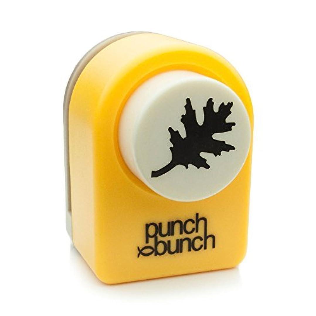 垂直形あえてPunch Bunch Medium Punch-Oak Leaf, 1