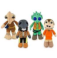 Se7en20 Star Wars Mos Eisley Cantina Mini Plush 4-Pack (Greedo, Ponda Baba, Momaw Nadon & Zutton)