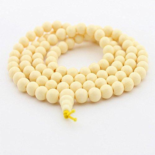 108玉天然象牙果数珠念珠 ブレスレット6mm [並行輸入品]