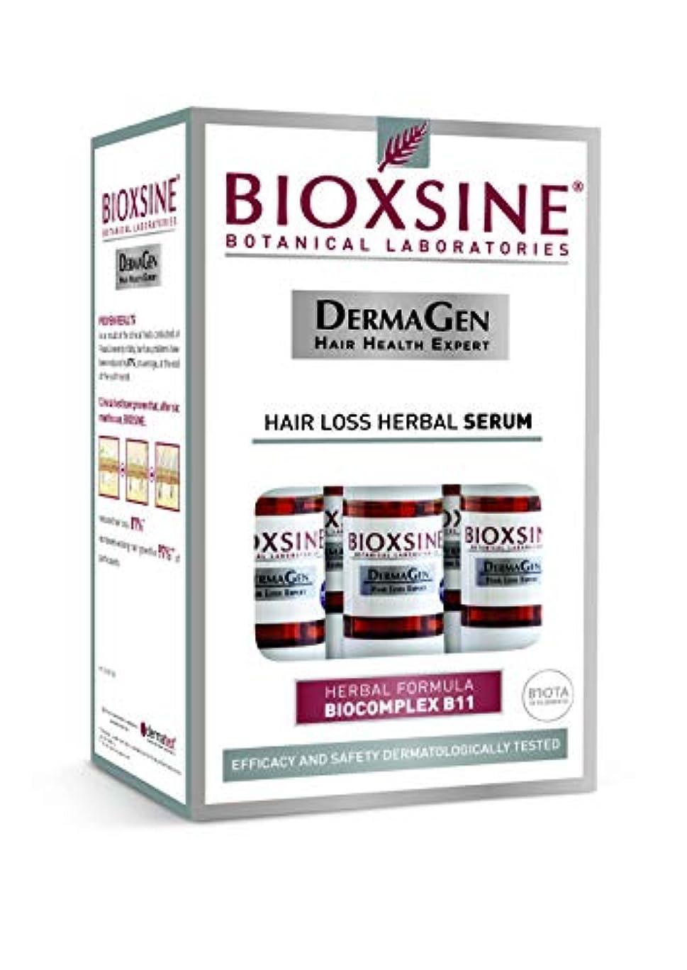 パーク義務事務所無香料の男性のためのBIOXSINEの毛損失の草の血清 - Biocomplex B11元の