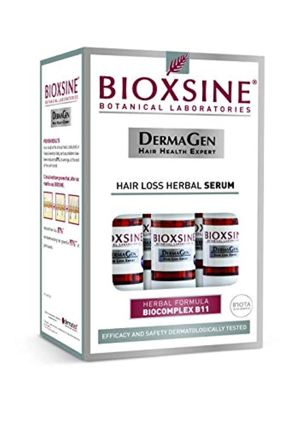 クローンアプローチ主張無香料の男性のためのBIOXSINEの毛損失の草の血清 - Biocomplex B11元の