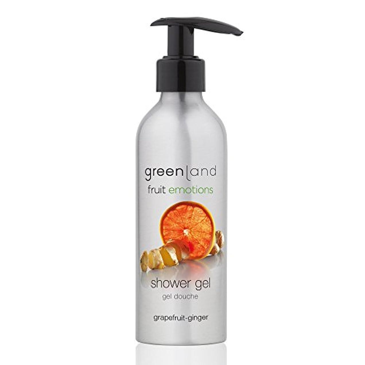 飛躍雇う流用するgreenland [FruitEmotions] シャワージェル 200ml グレープフルーツ&ジンジャー FE0215