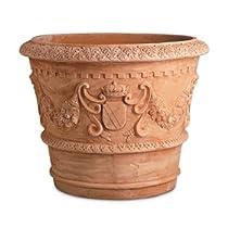 【Tuscany S.ROCCO ITORRINI】トスカーナ エスロッコ・イットリーニ・グランデュカ・バッキンガム宮殿御用達・イタリア製・輸入植木鉢・テラコッタ製