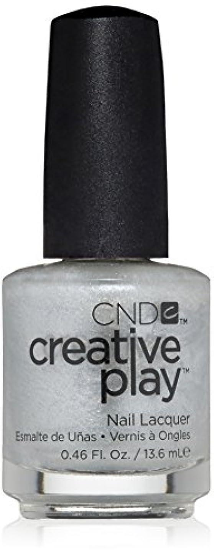 数学的なパテくるくるCND Creative Play Lacquer - Urge to Splurge - 0.46oz / 13.6ml