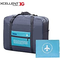 Xcellent Global Foldable Holdall Waterproof Duffle Overnight Travel Bag 32L AC006