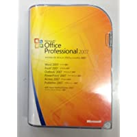 【旧商品】Microsoft Office 2007 Professional