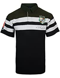 アイルランドCrestコットンラグビーシャツ