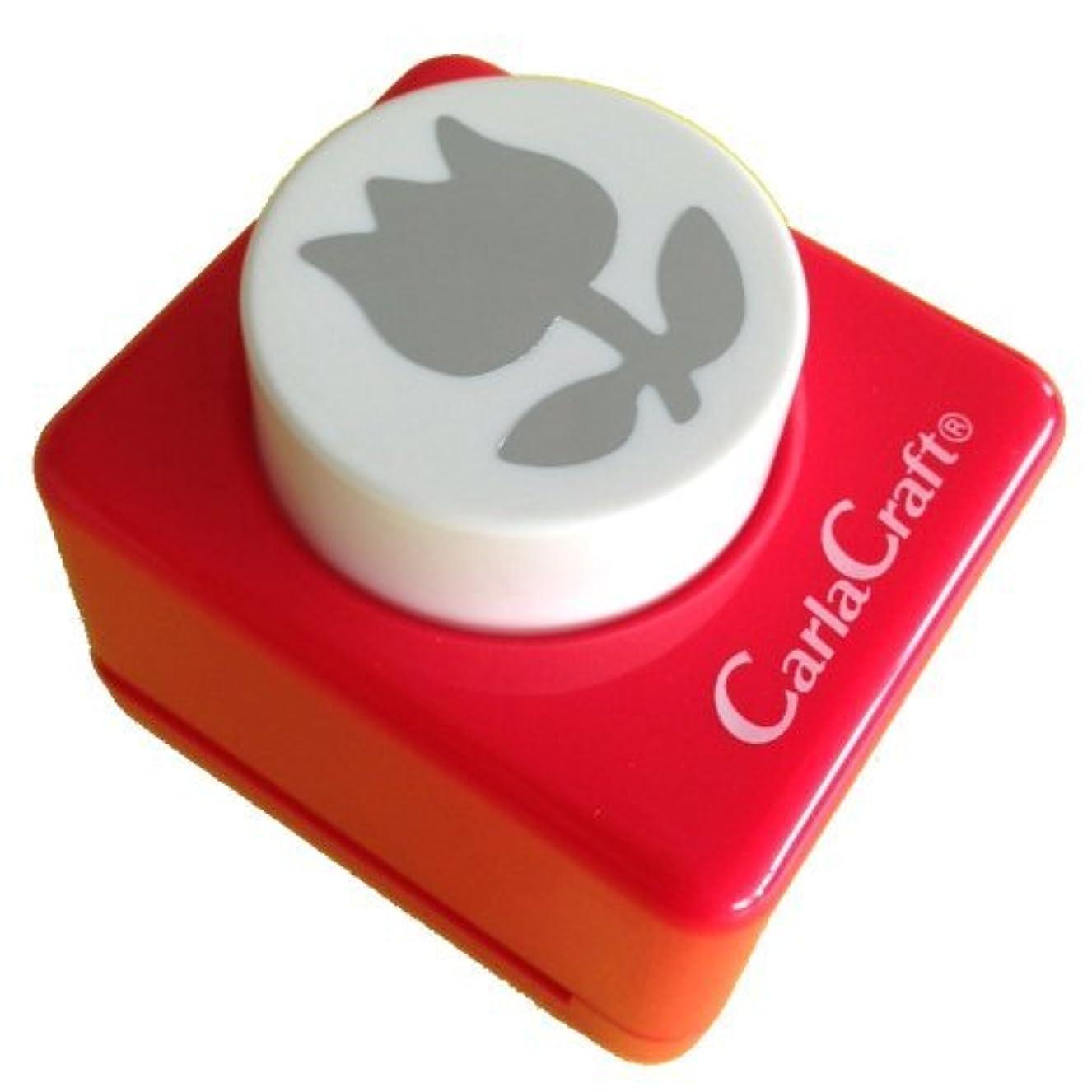 湖聖歌びっくりしたカール事務器 クラフトパンチ中 Tulip-A CP-2 ???????-A 00906163 【まとめ買い3個セット】