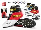 MOMO(モモ レーシングギア) レーシングブーツ GEOX カラー:GREY(グレー) サイズ:46(29.0-29.5cm) MRG-BT-GXGR46