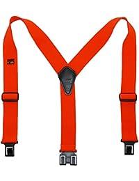 ペリーサスペンダーメンズゴム難燃性フックエンドWork Suspenders