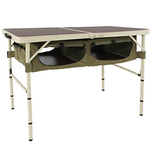 DOD(ディーオーディー) グッドラックテーブル 車内で棚として使用可能 大容量収納スペース TB4-501