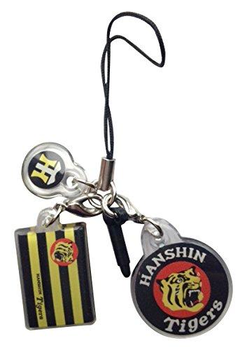 阪神タイガース ストラップ 携帯 球団旗 虎 虎丸 tigers チャーム プロ野球 公認グッズ