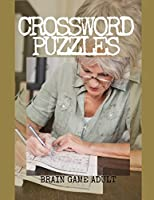 Crossword Puzzles Brain Game Adult: Good Time Crosswords Family Favorite Crossword Puzzles, Hours of brain-boosting entertainment for adults and kids.