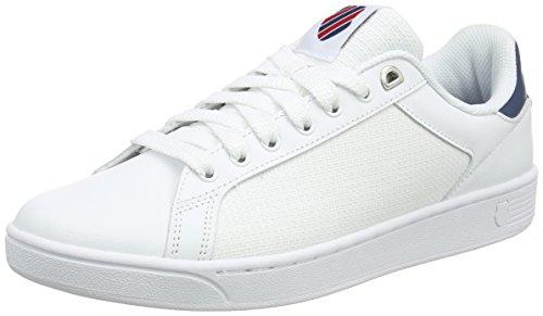 [ケースイス KSWISS] スニーカー Clean Court CMF(クリーンコート CMF)  05353 ホワイト US US 8.5(26.5 cm)