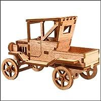 Young Modeler Junior Serises, 木製モデルキット_フォードTピックアップトラックYM762) [並行輸入品]