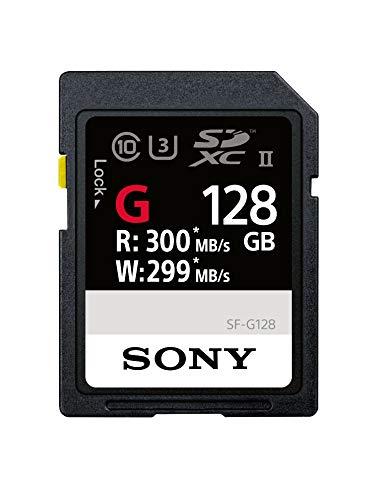 Sony SDXC 128GB UHS-II R:300MB/s W:299MB/s 4K対応 U3 Class10 SF-G128 ソニー