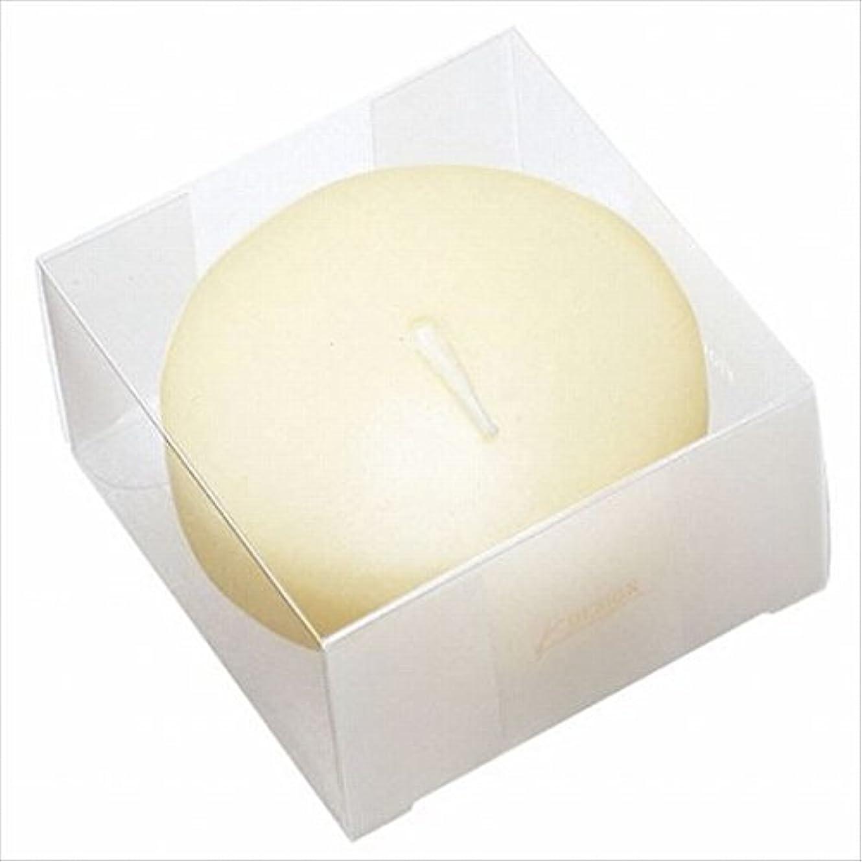 モルヒネギャングスター表面的なカメヤマキャンドル( kameyama candle ) プール80 (箱入り) 「 アイボリー 」 キャンドル