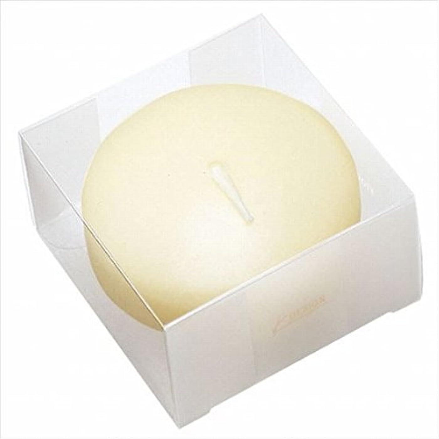 スカルクくるくる乱気流カメヤマキャンドル( kameyama candle ) プール80 (箱入り) 「 アイボリー 」 キャンドル