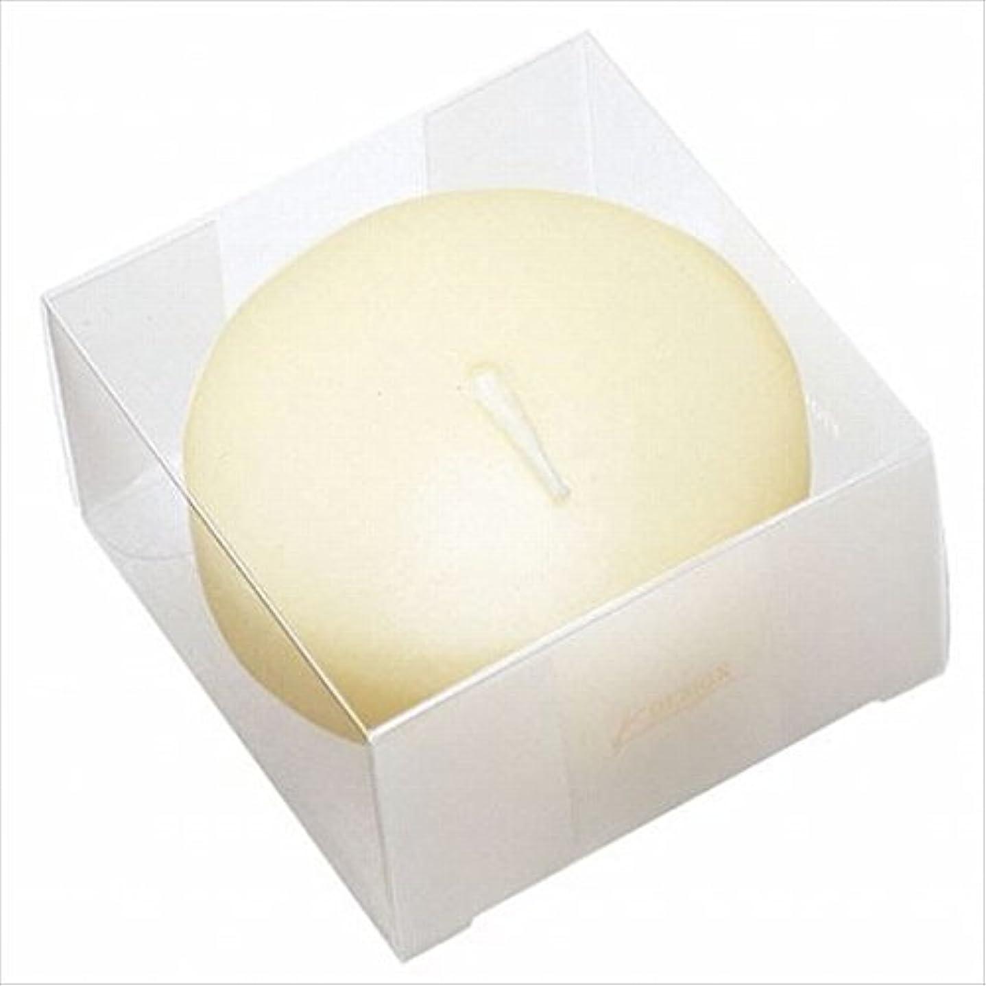 なんでも敏感な不良カメヤマキャンドル( kameyama candle ) プール80 (箱入り) 「 アイボリー 」 キャンドル