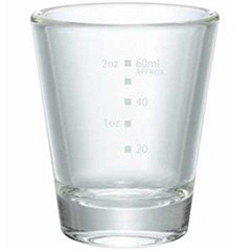 ハリオ ショットグラス 耐熱ガラス製 満水容量80ml sgs-80