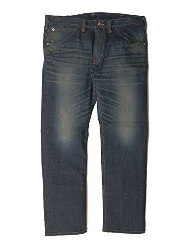 (エドウィン) EDWIN 大きいサイズ メンズ 472XVB REGULAR STRAIGHT レギュラーストレート ウエスタン ジーンズ (濃色ブルー) [40-46インチ] サカゼン 濃色ブルー / 44