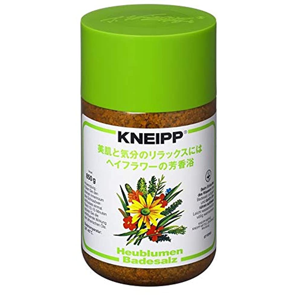 キウイ有益加入クナイプ バスソルト ヘイフラワーの香り 850G 2個セット
