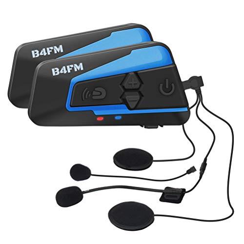 LX-B4FM バイク インカム bluetooth インターコム 4riders 4人同時通話 高音質 FMラジオ防水長時間通話 無線機バイク 2種類マイク 日本語説明 スキーモバイル
