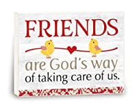 Imagine Design Shabby Chicks Friends are Gods Way ボックスサイン