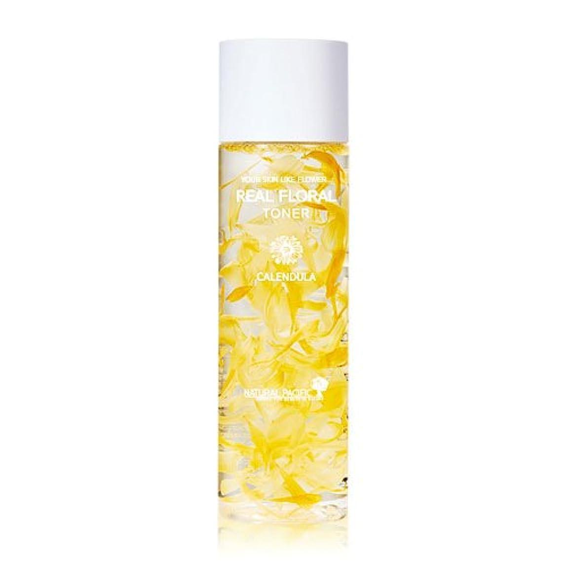 息切れハイジャックデジタル[Renewal] NATURAL PACIFIC Real Calendula Floral Toner 180ml/ナチュラルパシフィック リアル カレンデュラ フローラル トナー 180ml [並行輸入品]
