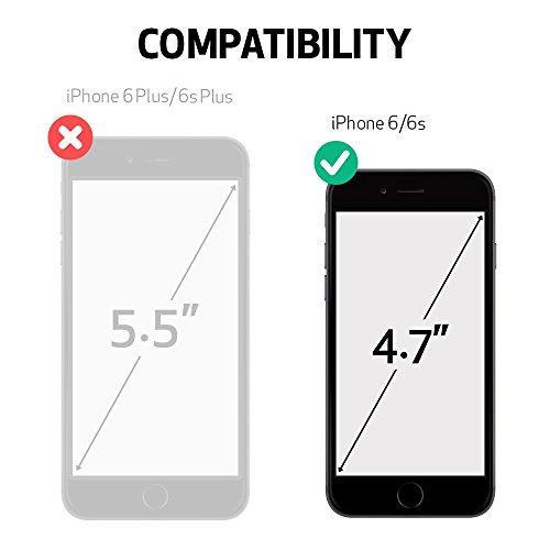 iPhone 6 ケース, Spigen®  スリム+保護力+個性  Apple iPhone 4.7 (2014) スリム アーマー The New iPhone アイフォン6 (国内正規品) (エレクトリック・レッド 【SGP10956】)
