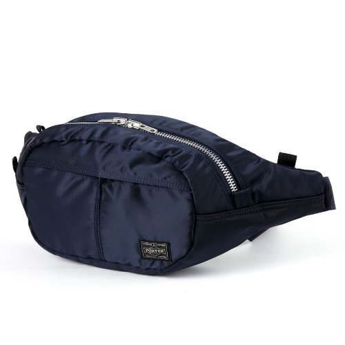 (ヘッド・ポーター) HEAD PORTER | TANKER-ORIGINAL | OVAL WAIST BAG BLACK