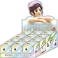 コップのフチ子 フィギュアマスコット 温泉フチコカラーズ BOX