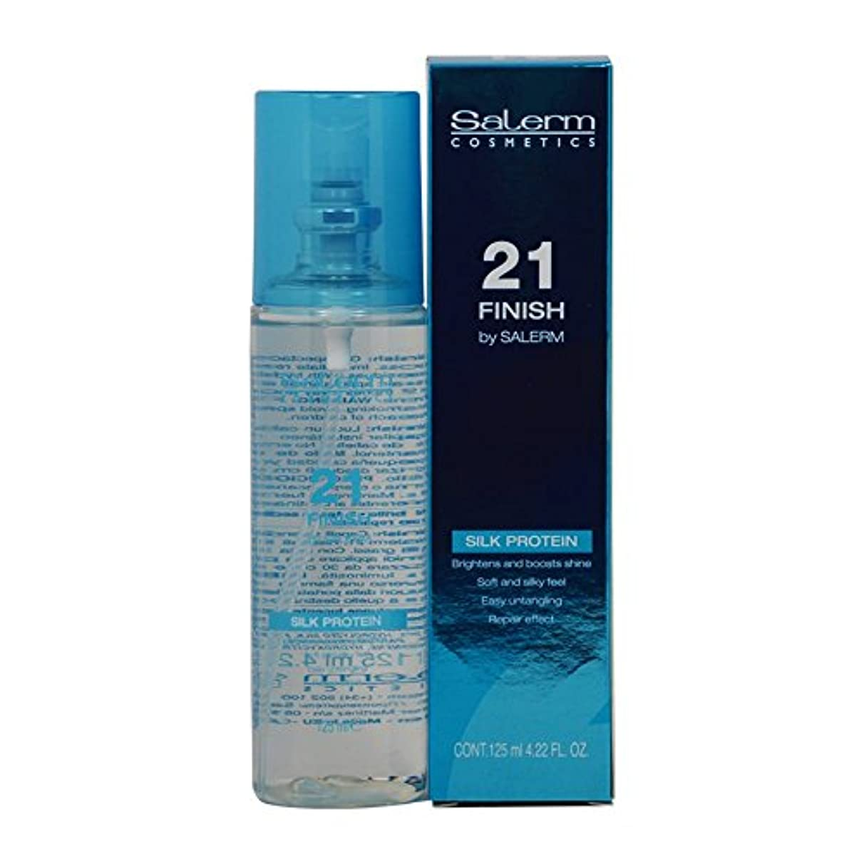 Salerm 21完了絹タンパク質4.22オンススプレー 4.22液量オンス