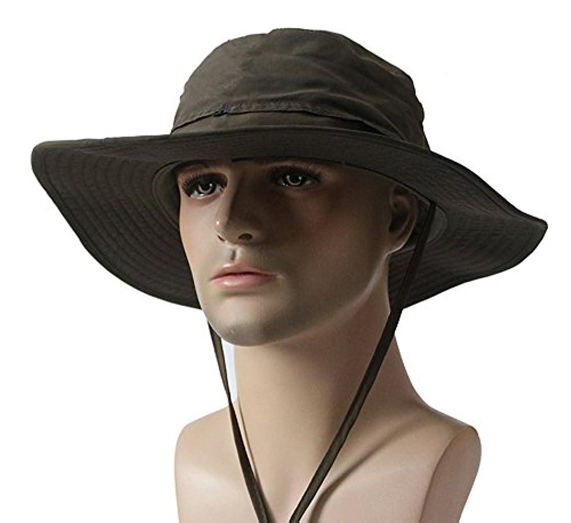 ピカリング機関起こりやすいYYGIFT ユニセックス サンハット 釣り保護帽子 アウトドアハット ビーチキャップ ハイキング釣り帽子 UV保護 太陽保護帽子 日焼け止め 通気性 速乾性