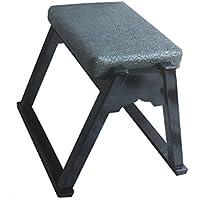 鈴木木工所 木製 本堂用椅子(お詣り椅子)高級黒塗 高さ37cm 積み重ね式