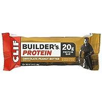 【アメリカから直輸入】 クリフビルダーズプロテインバー チョコレートピーナッツバター 24本セット 【並行輸入品】 CLIF Builder's Protein Bar Chocolate Peanut Butter