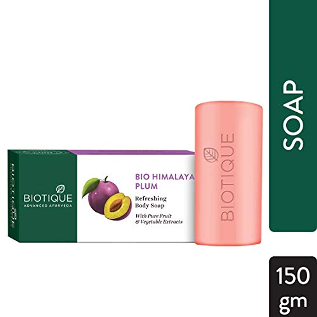 句形容詞特権Biotique Soap HIMALYAN PLUM 150g