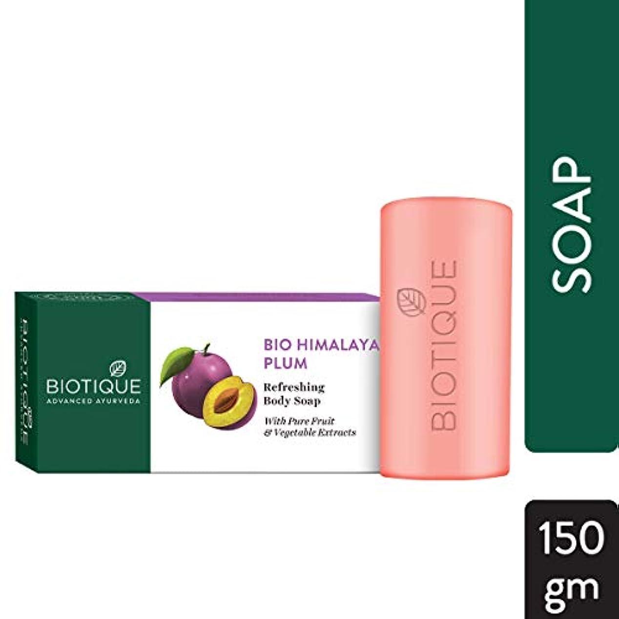 腹スクラップブック王子Biotique Soap HIMALYAN PLUM 150g