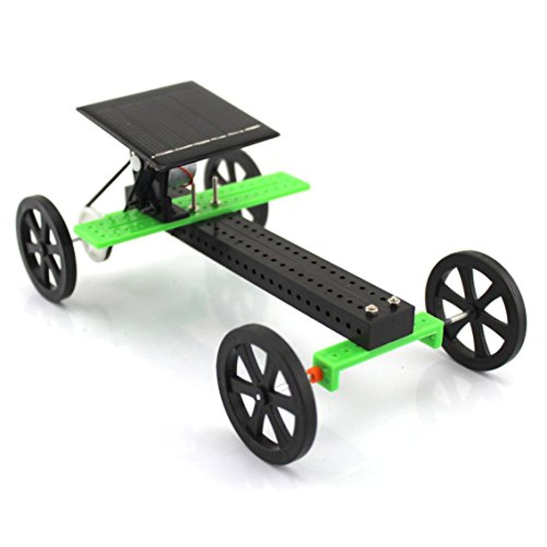 ピーチ – Mini Solar Powered Car – DIY車キットおもちゃセット科学教育ガジェット趣味面白いアセンブリキット教育IQ組み立てロボットVehicle