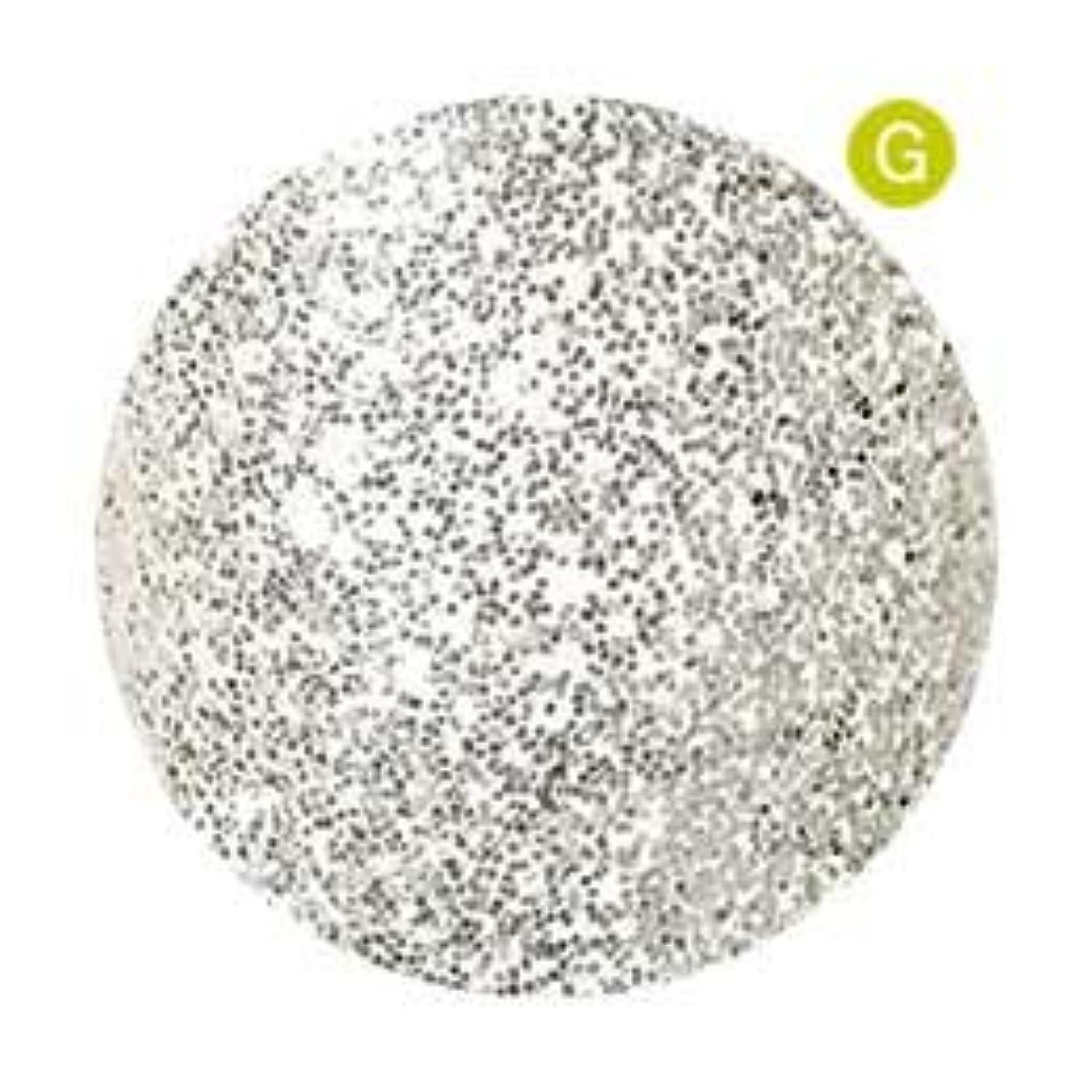 芸術的議題インテリアPalms Graceful カラージェル 3g 038 ホワイトシルバー